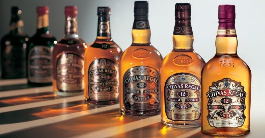 Công bố rượu nhập khẩu - hãng chivas