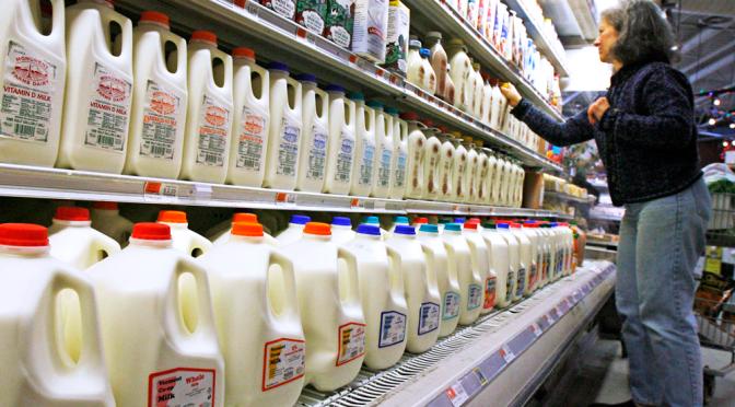 Sữa nhập khẩu