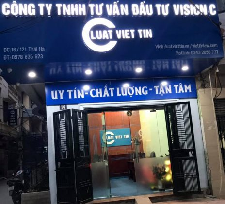 Văn phòng công ty luật Việt Tín