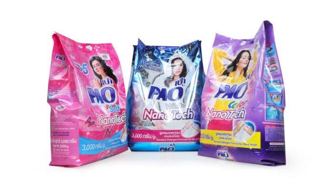 Bột giặt Thái Lan có mẫu mã và chất lượng tốt