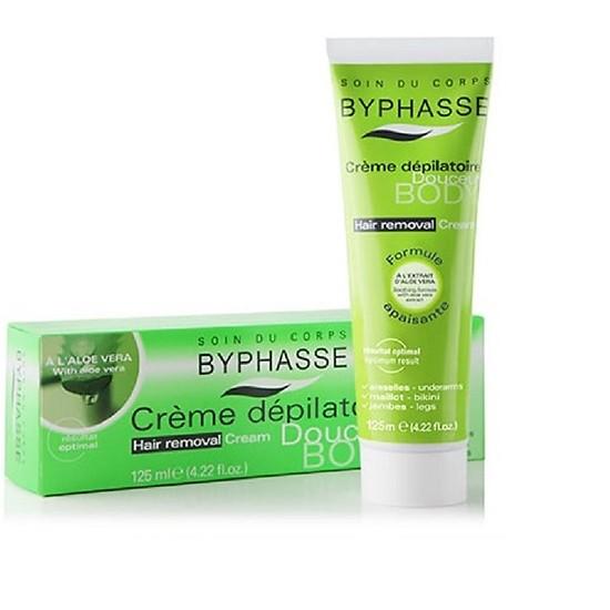 Sản phẩm kem tẩy lông Byphasse