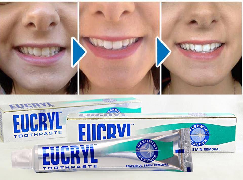 Hiệu quả sau khi sử dụng Eucryl