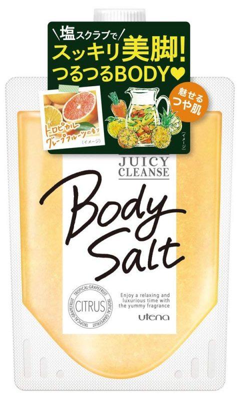 Muối tắm Utena Body Salt được nhiều giới trẻ tại Châu Á yêu thích