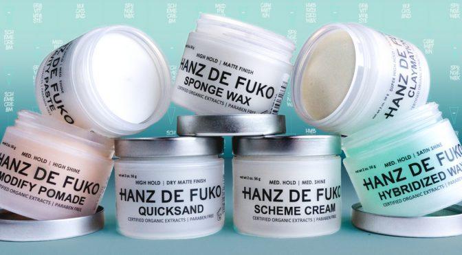 Sáp vuốt tóc Hanz de Fuko dành cho phái mạnh được đăng ký lưu hành sau 2 tuần