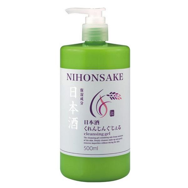 Tẩy trang rượu Sake là một sản phẩm được phụ nữ Nhật yêu thích